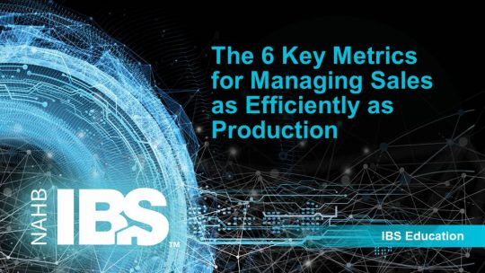 The 6 Key Metrics for Managing Sales as Efficiently as Production